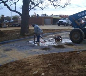 colleyville mcdonalds 2 - Deep Root Aeration Tubes | Rootwell