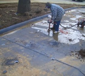 colleyville mcdonalds 3 - Deep Root Aeration Tubes | Rootwell