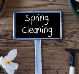 Garden spring cleaning tasks