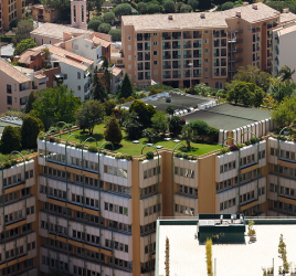 Green roofs in Monaco
