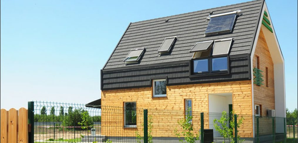 Passive house depicting passive buildings